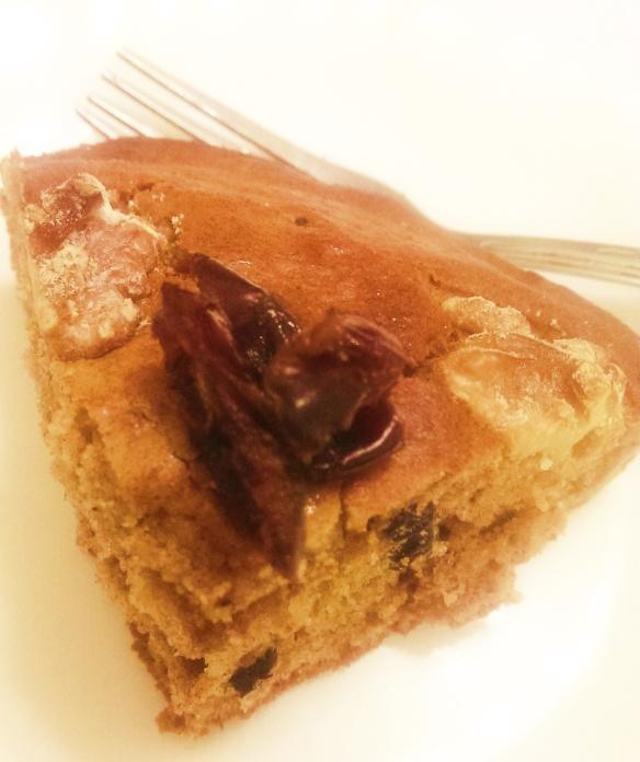 Date And Walnut Cake.